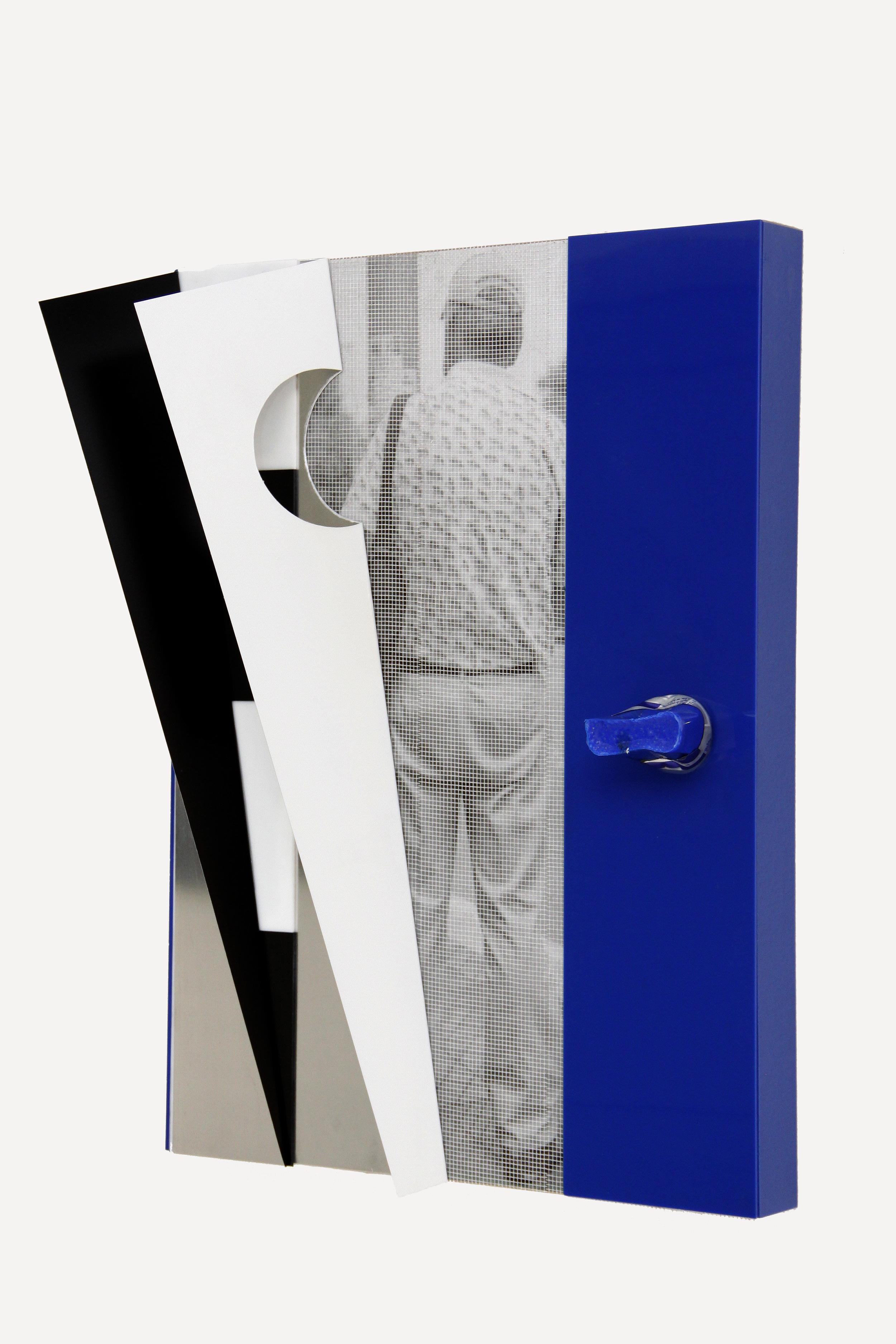 Pablo Jansana, Untitled #1, 2014, Epson Ultrachrome Pro 4880 Inkjet Print,  Lambda On MDF, Paper, Fiberglass, Plexiglass, Wood And Aluminum, 17 × 23 ×  6 In.